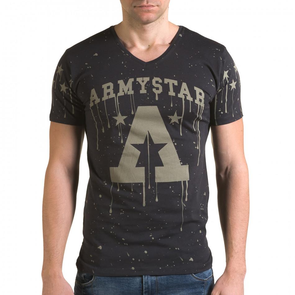 Tricou bărbați Lagos gri il120216-41