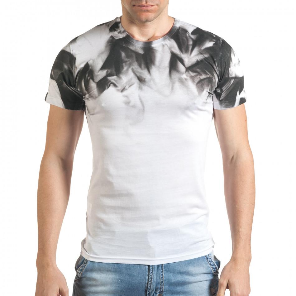 Tricou bărbați Blitz alb tsf140416-73