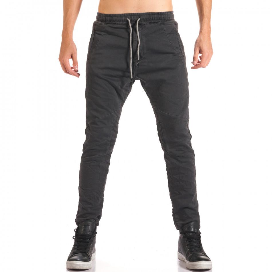 Pantaloni bărbați Y-Two gri it150816-11