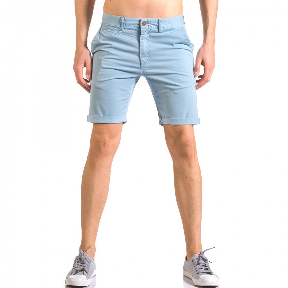 Pantaloni scurți bărbați XZX-Star albaștri ca050416-61