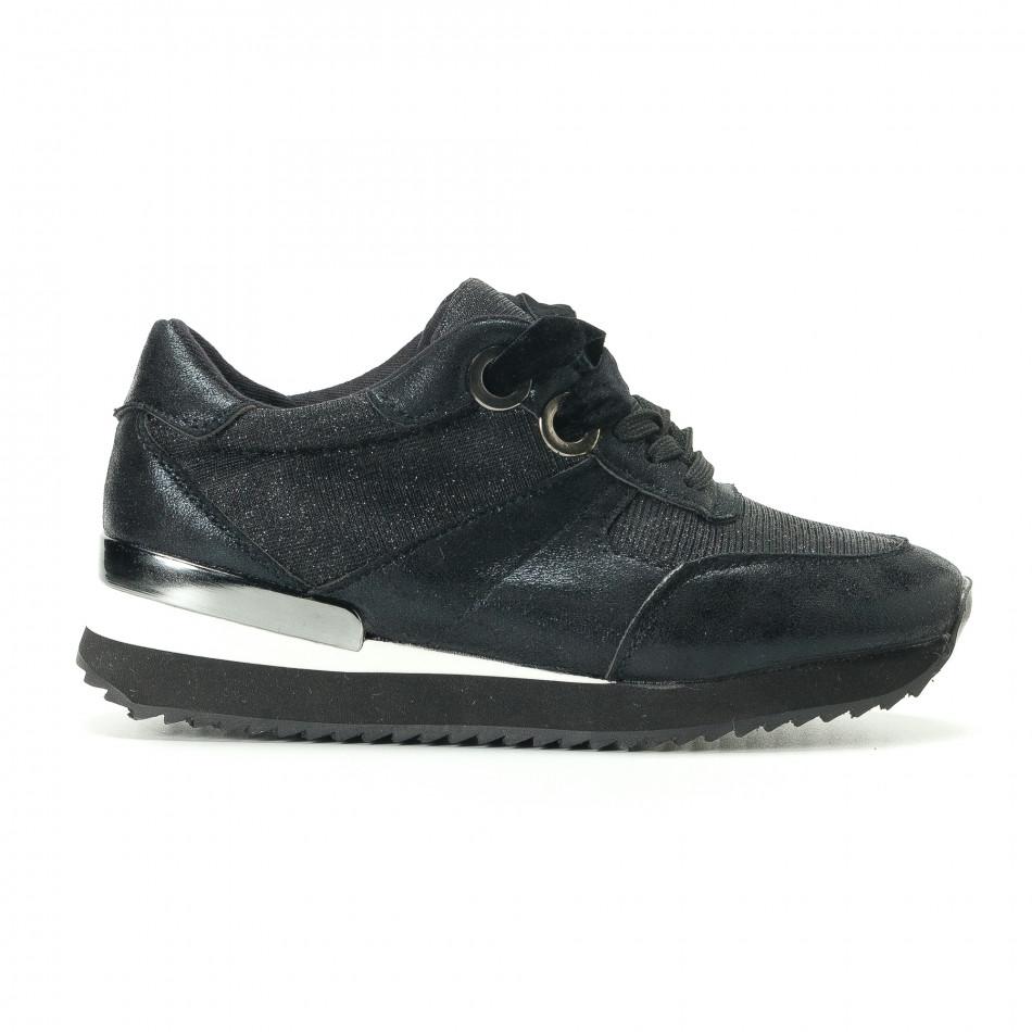Pantofi sport de dama Melissa neagră it200917-24