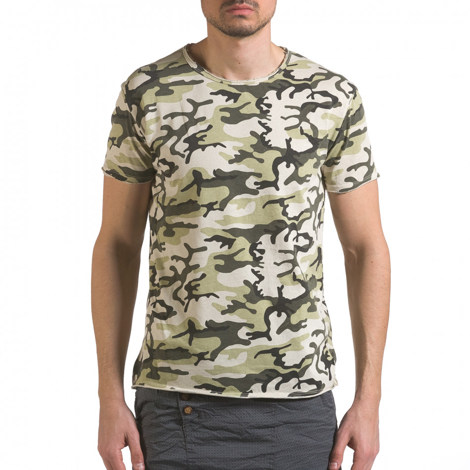 Tricou bărbați Wilfed camuflaj it110316-93