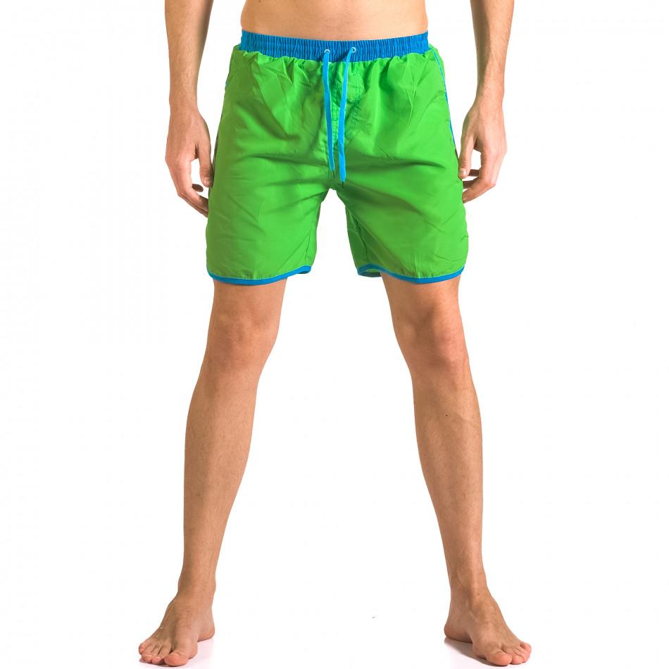 Costume de baie bărbați Yaliishi verde ca050416-30