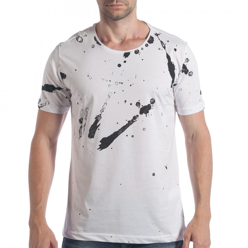Tricou bărbați 2Y Premium alb tsf090617-49