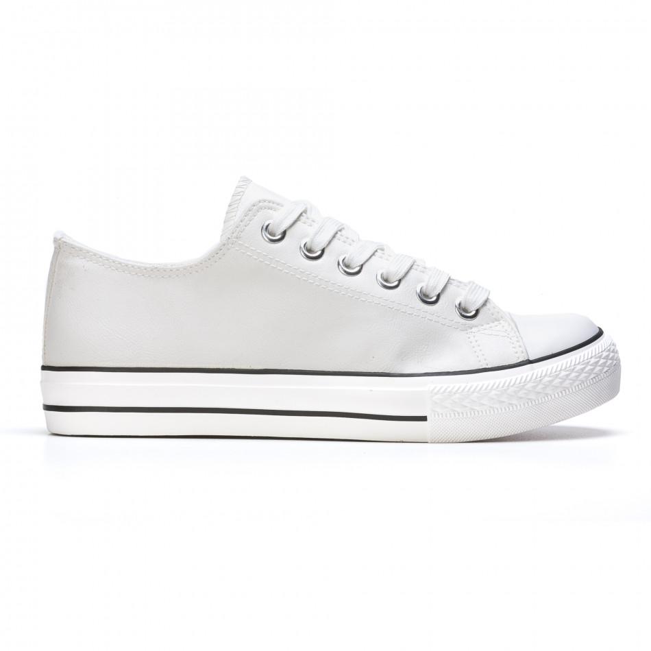 Pantofi sport bărbați Mondo Naturale albi It050216-12