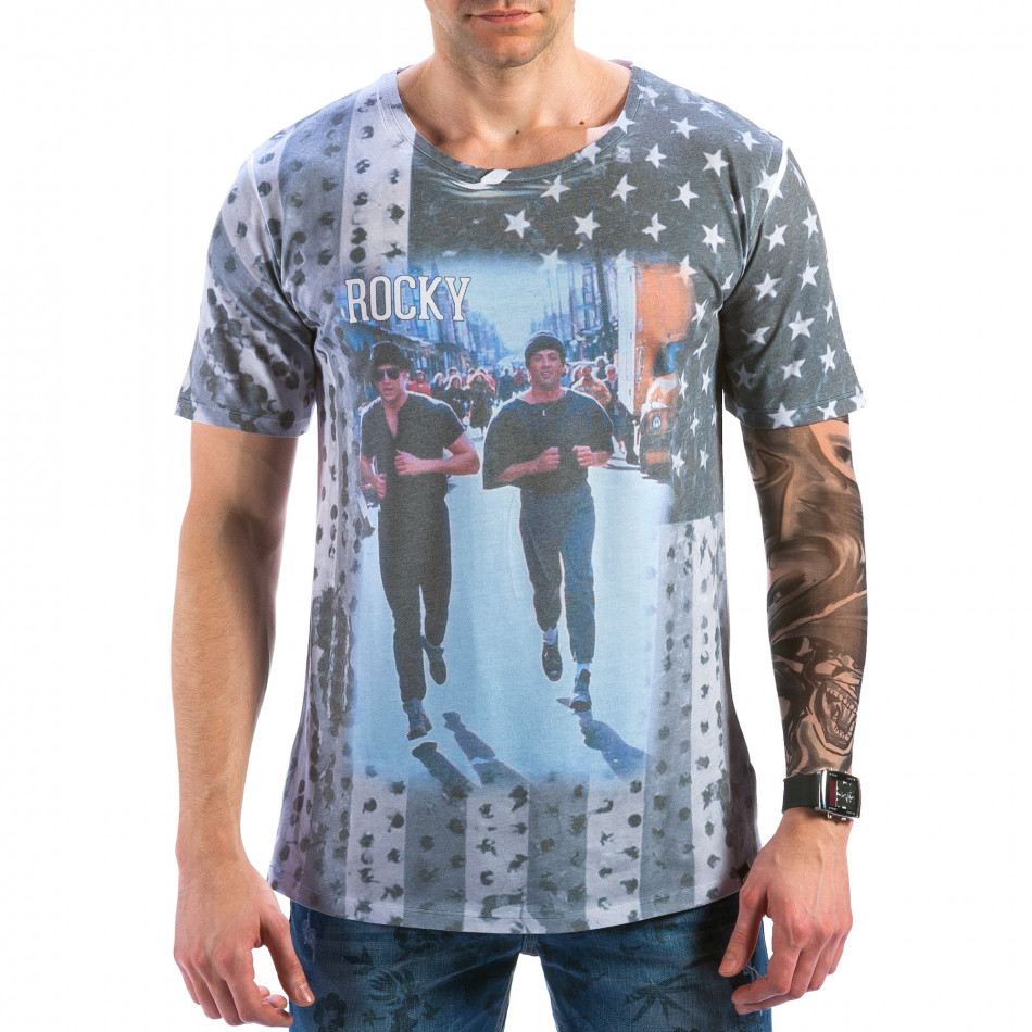 Tricou bărbați Catch curcubeu il180215-98