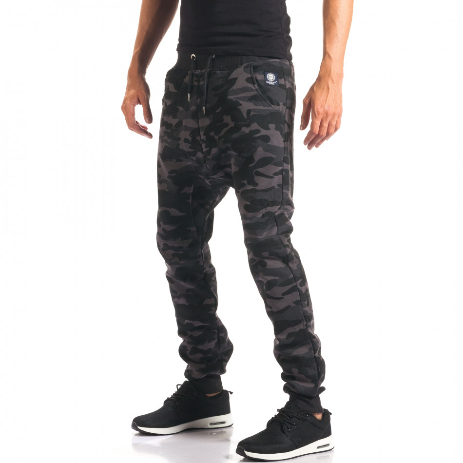 Pantaloni baggy bărbați Marshall camuflaj it160816-4