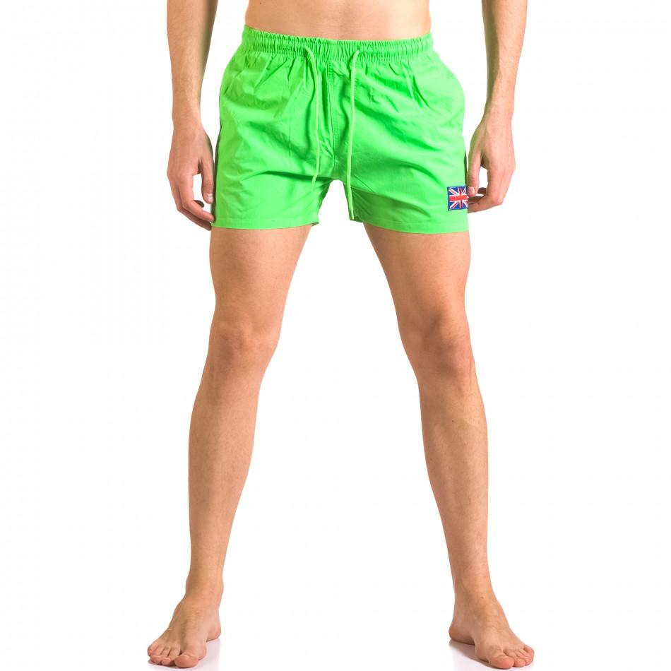 Costume de baie bărbați Bitti Jeans verde ca050416-8