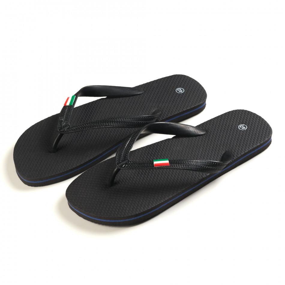 Papuci bărbați FM negri it150616-5