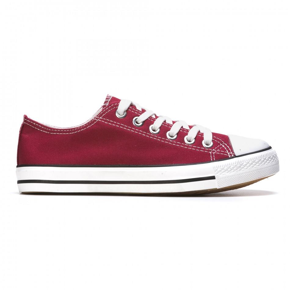 Pantofi sport bărbați Dilen roșii It050216-2