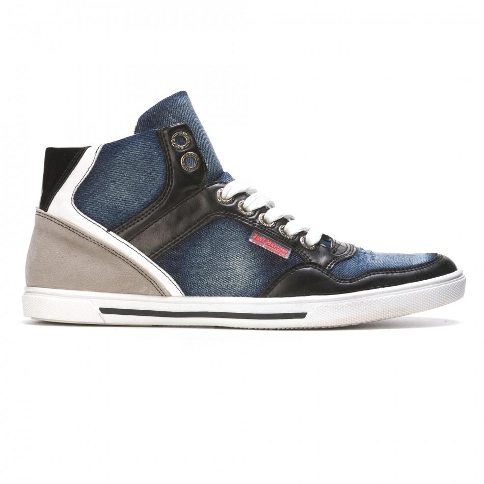 Pantofi sport bărbați Staka albaștri It050216-15
