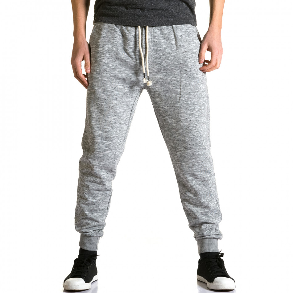 Pantaloni baggy bărbați Enos gri ca190116-31