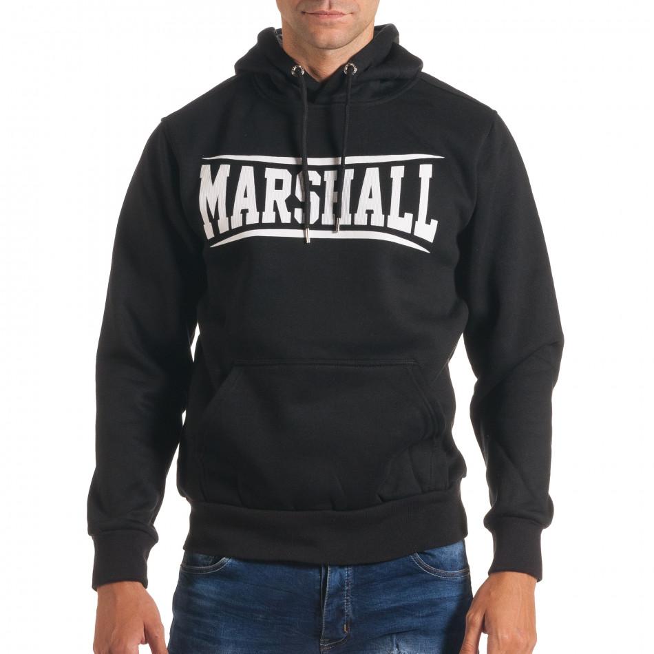 Hanorac bărbați Marshall negru it240816-10