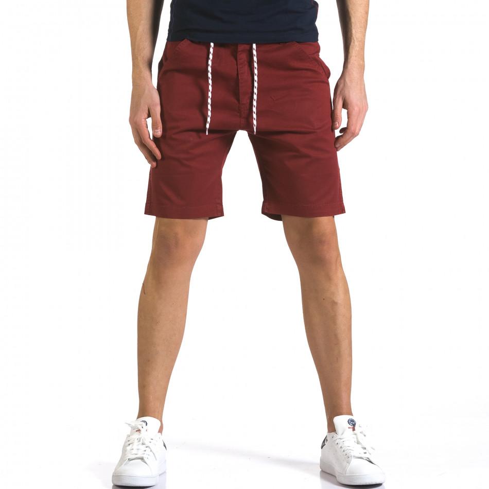 Pantaloni scurți bărbați Marshall roșii it110316-38