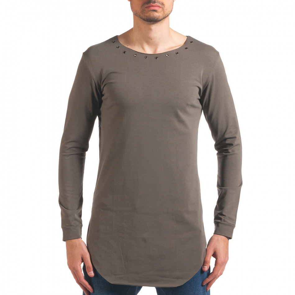 Bluză bărbați Black Fox verde it250416-77