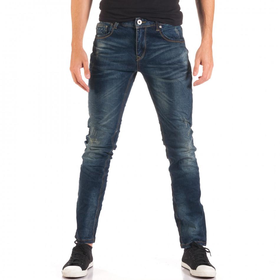 Blugi bărbați Flex Style albaștri it150816-34