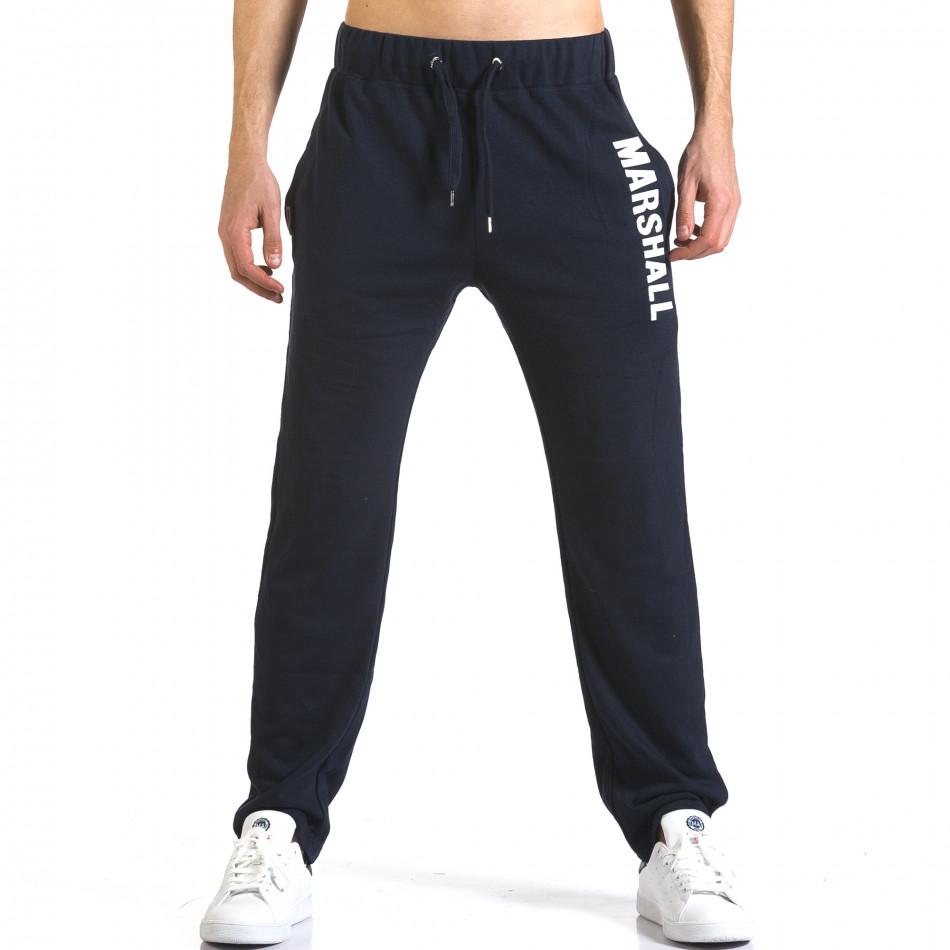 Pantaloni bărbați Marshall albastru it110316-15