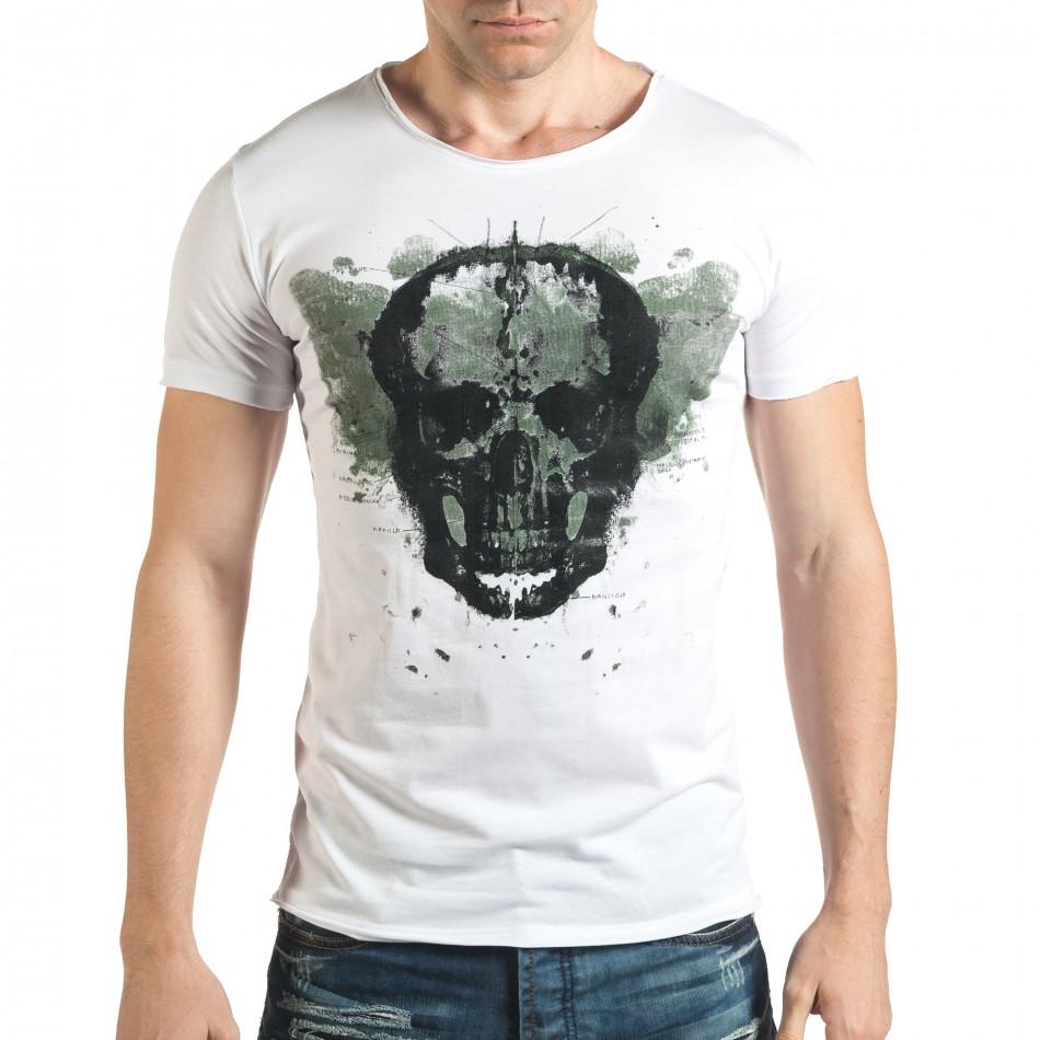 Tricou bărbați Catch alb il140416-13
