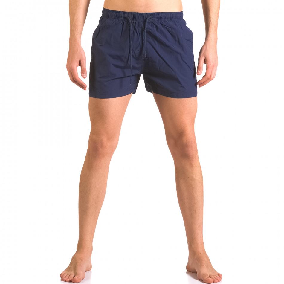 Costume de baie bărbați Bitti Jeans albastru ca050416-6