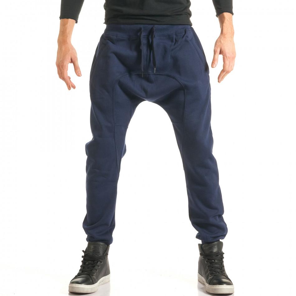 Pantaloni baggy bărbați The Power albaștri it181116-44
