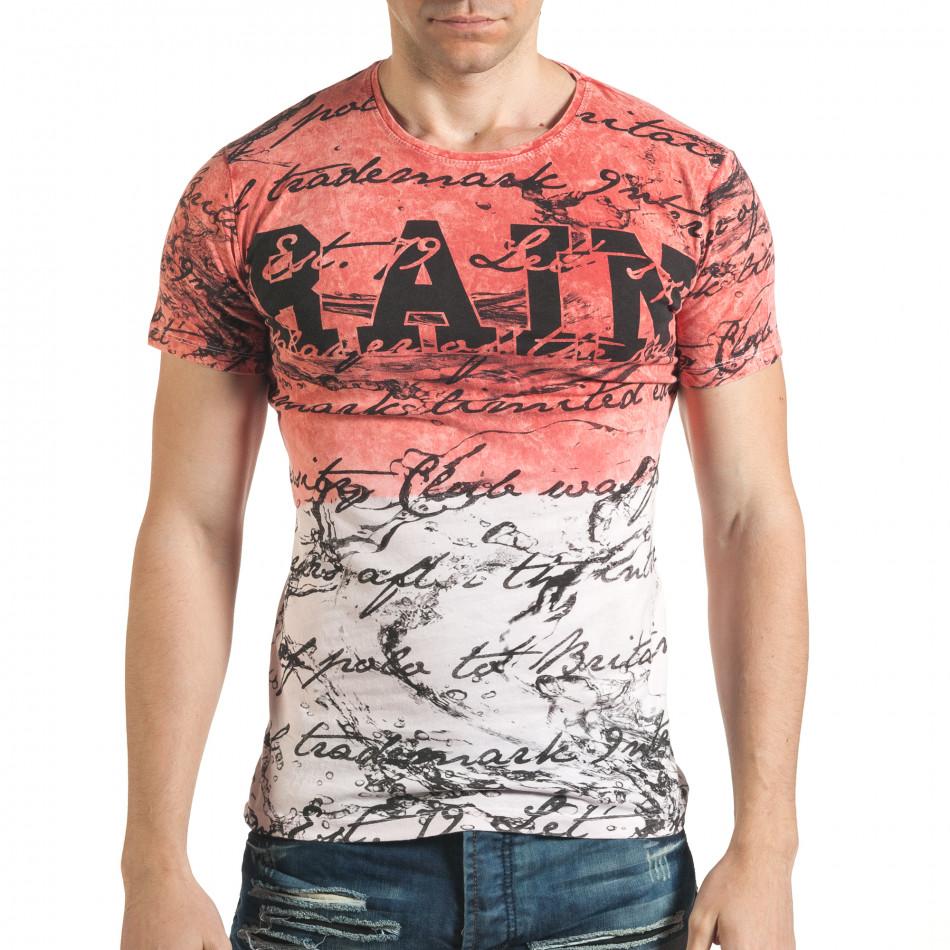 Tricou bărbați Lagos roz il140416-64