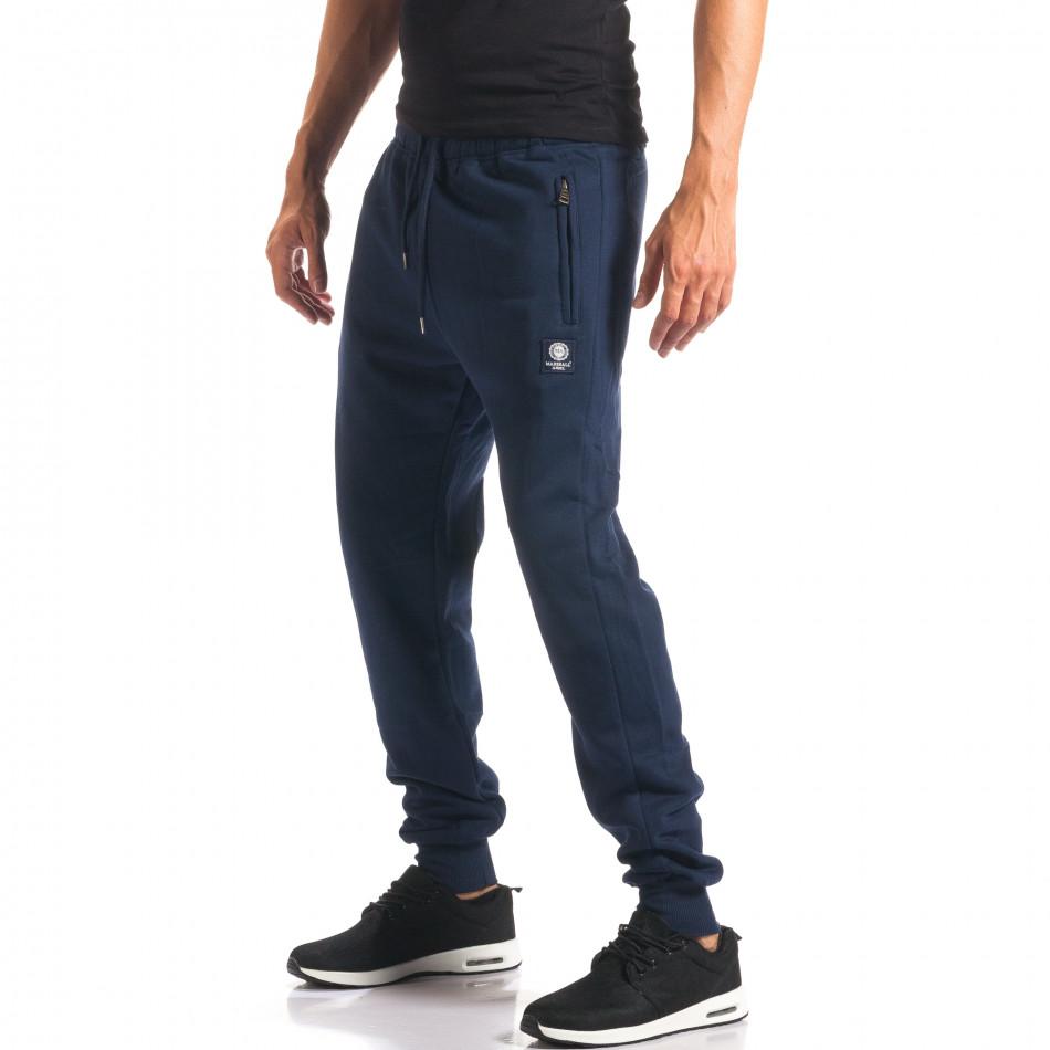 Pantaloni bărbați Marshall albastru it160816-10