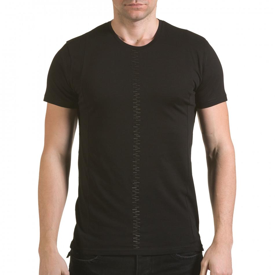 Tricou bărbați SAW negru il170216-54