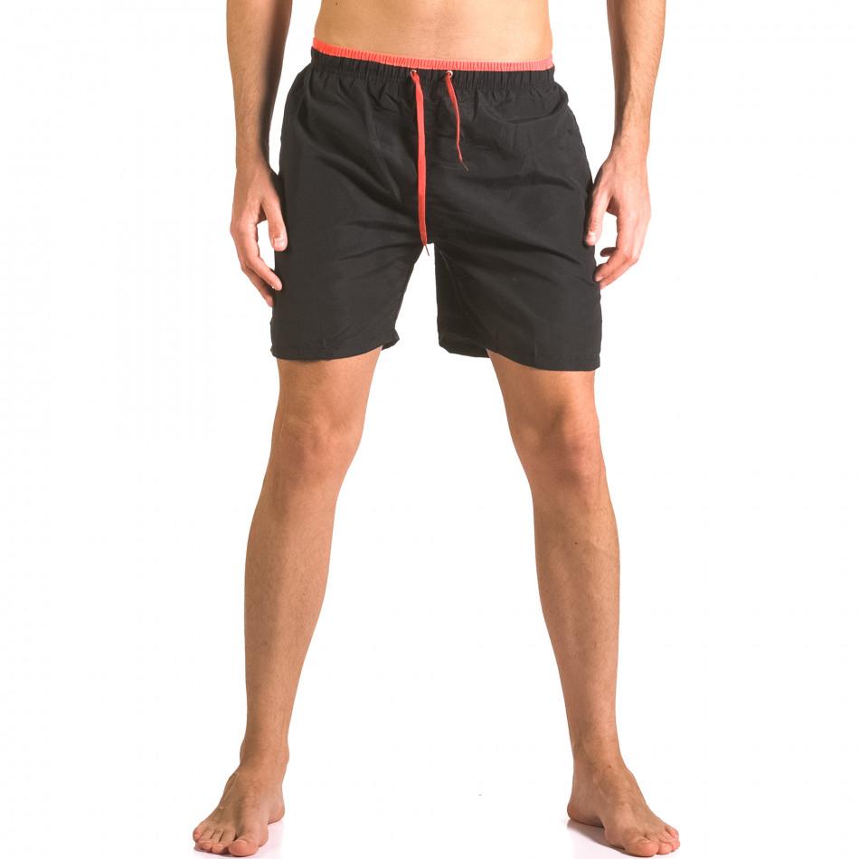 Costume de baie bărbați Yaliishi negru ca050416-23