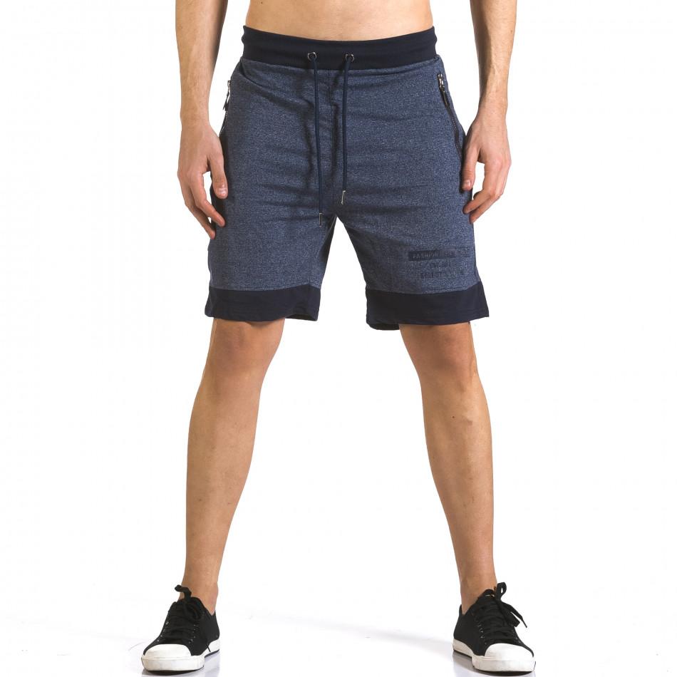 Pantaloni scurți bărbați Furia Rossa albaștri it110316-77