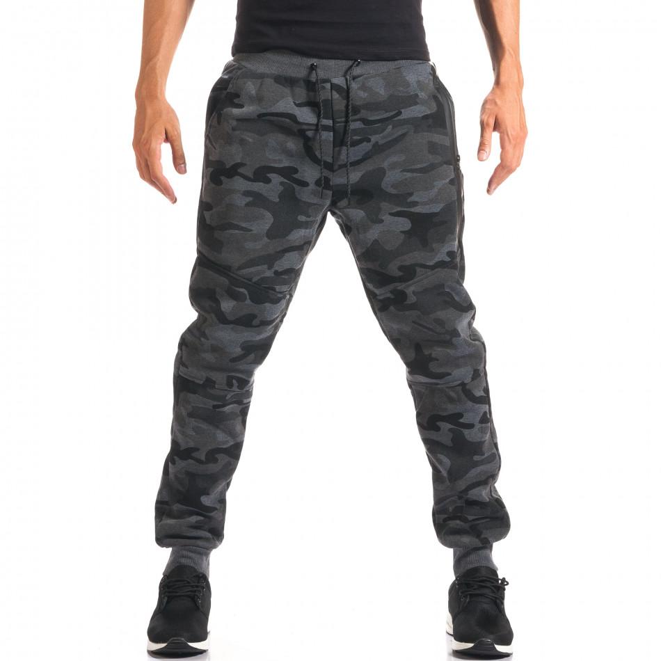 Pantaloni bărbați New Black camuflaj it160816-28