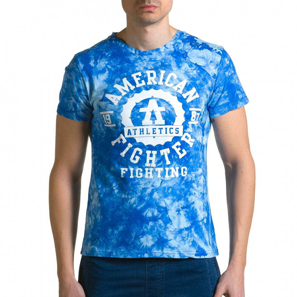Tricou bărbați P2P albastru ca190116-43