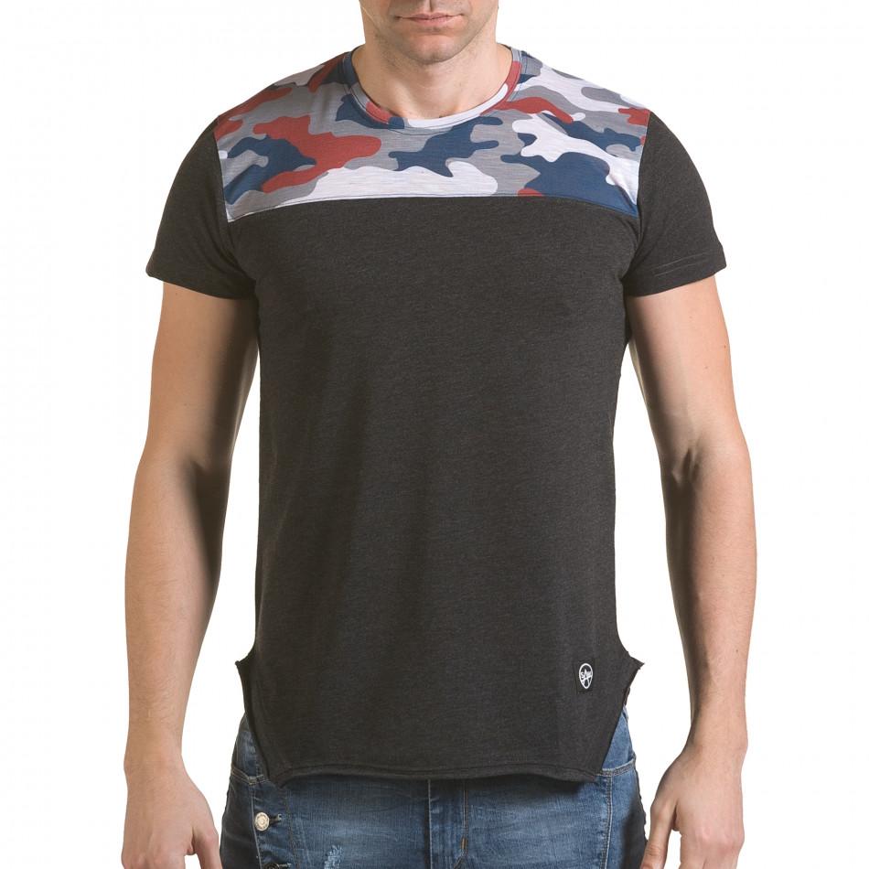 Tricou bărbați SAW camuflaj il170216-53