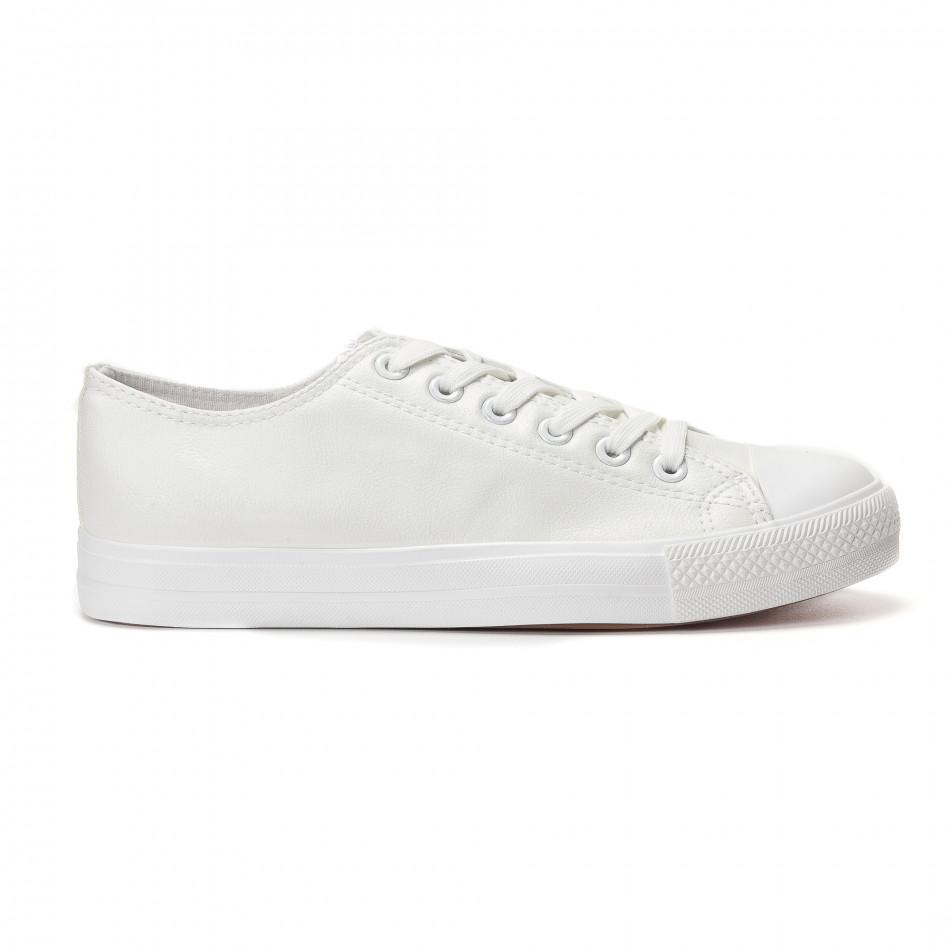 Teniși bărbați Bella Comoda albi it250118-4