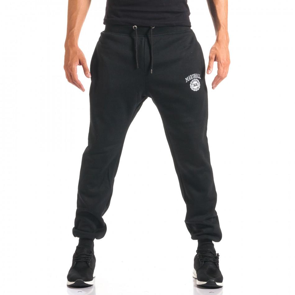 Pantaloni bărbați Marshall negru it160816-7