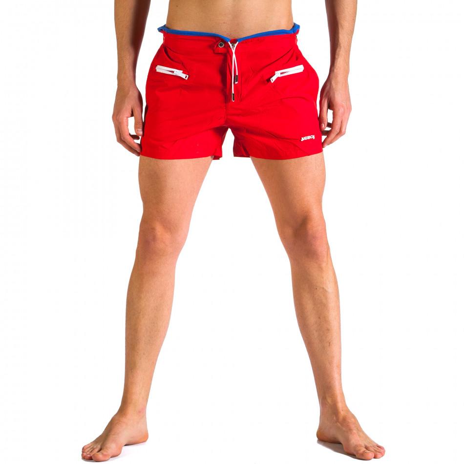 Costume de baie bărbați Justboy roșu it250416-62