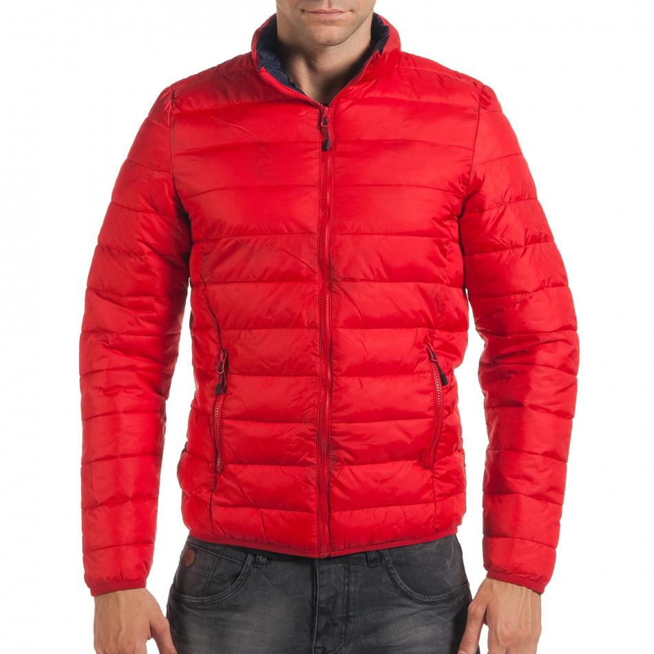 Geacă de primăvară-toamnă bărbați Adrexx roșie it190616-19