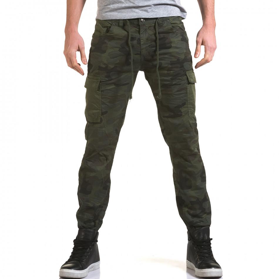 Pantaloni bărbați Yes Design camuflaj it090216-11