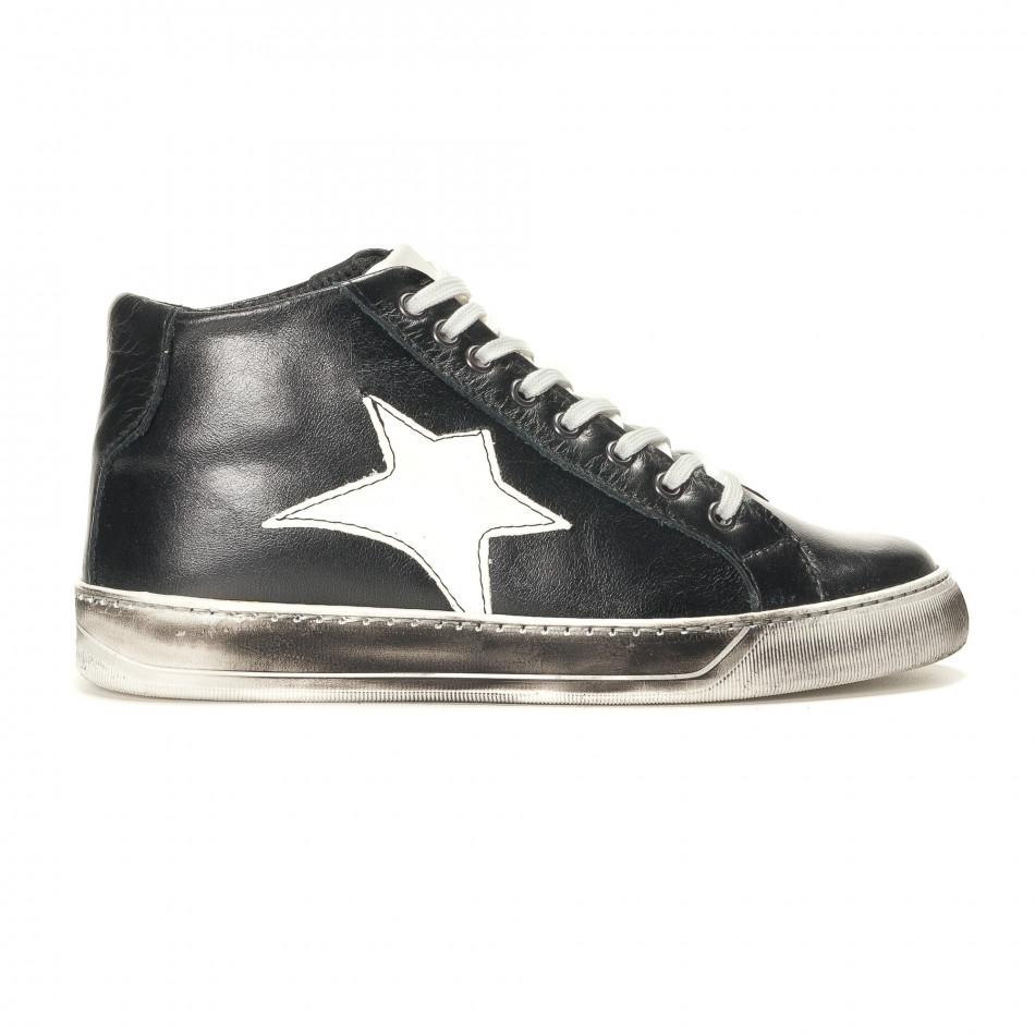 Teniși bărbați Shoes in Progress negri it141016-4