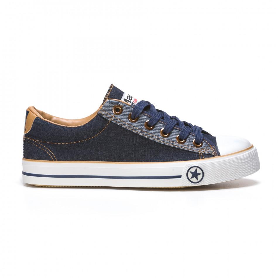 Pantofi sport bărbați Maideng albaștri 110416-3