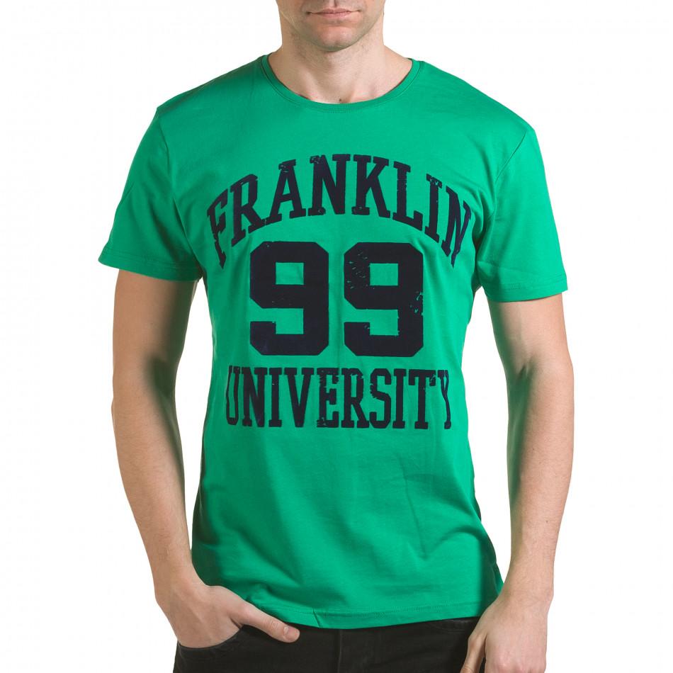 Tricou bărbați Franklin verde il170216-1