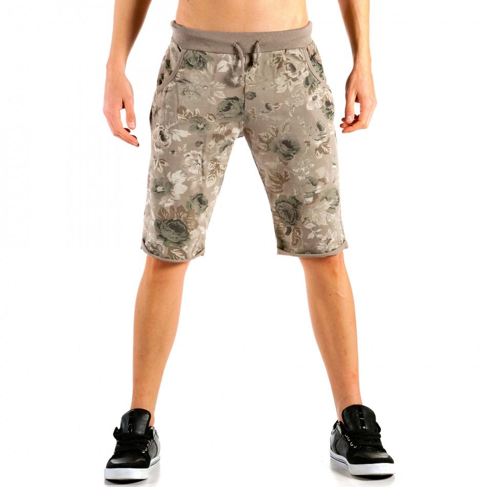 Pantaloni scurți bărbați FM verzi it240415-27