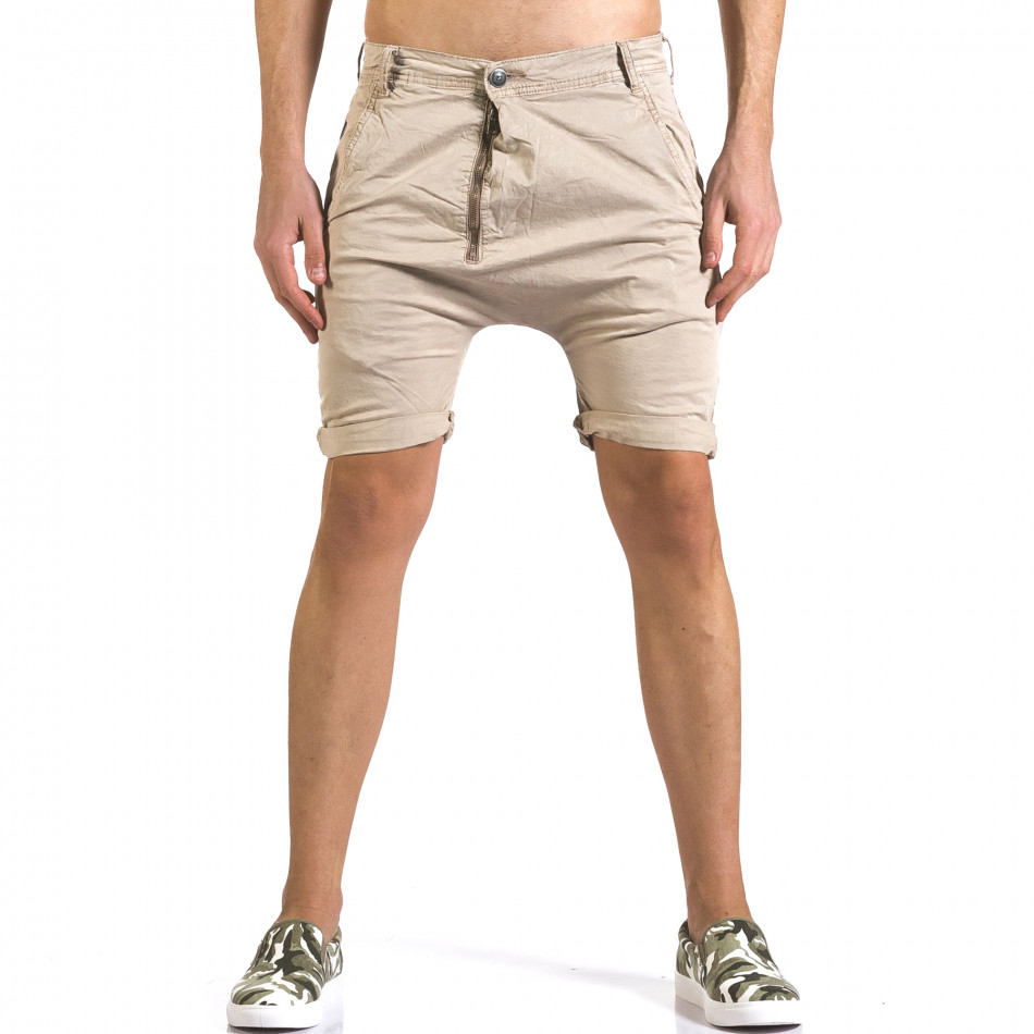 Pantaloni scurți bărbați Always Jeans bej it110316-35