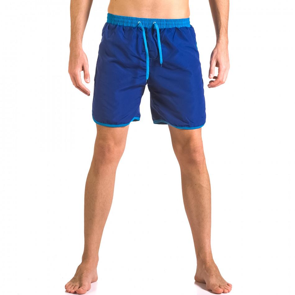 Costume de baie bărbați Yaliishi albastru ca050416-32