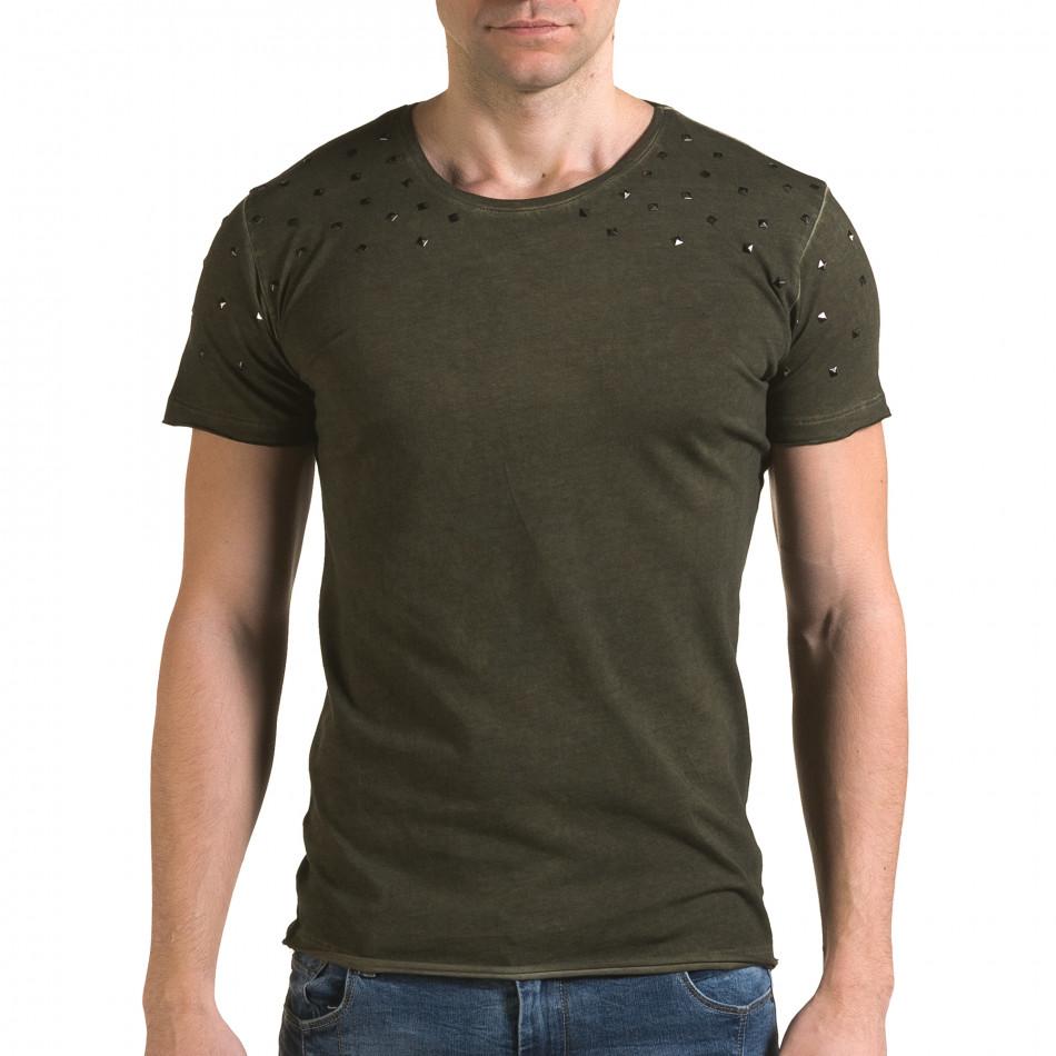 Tricou bărbați Lagos verde il120216-3