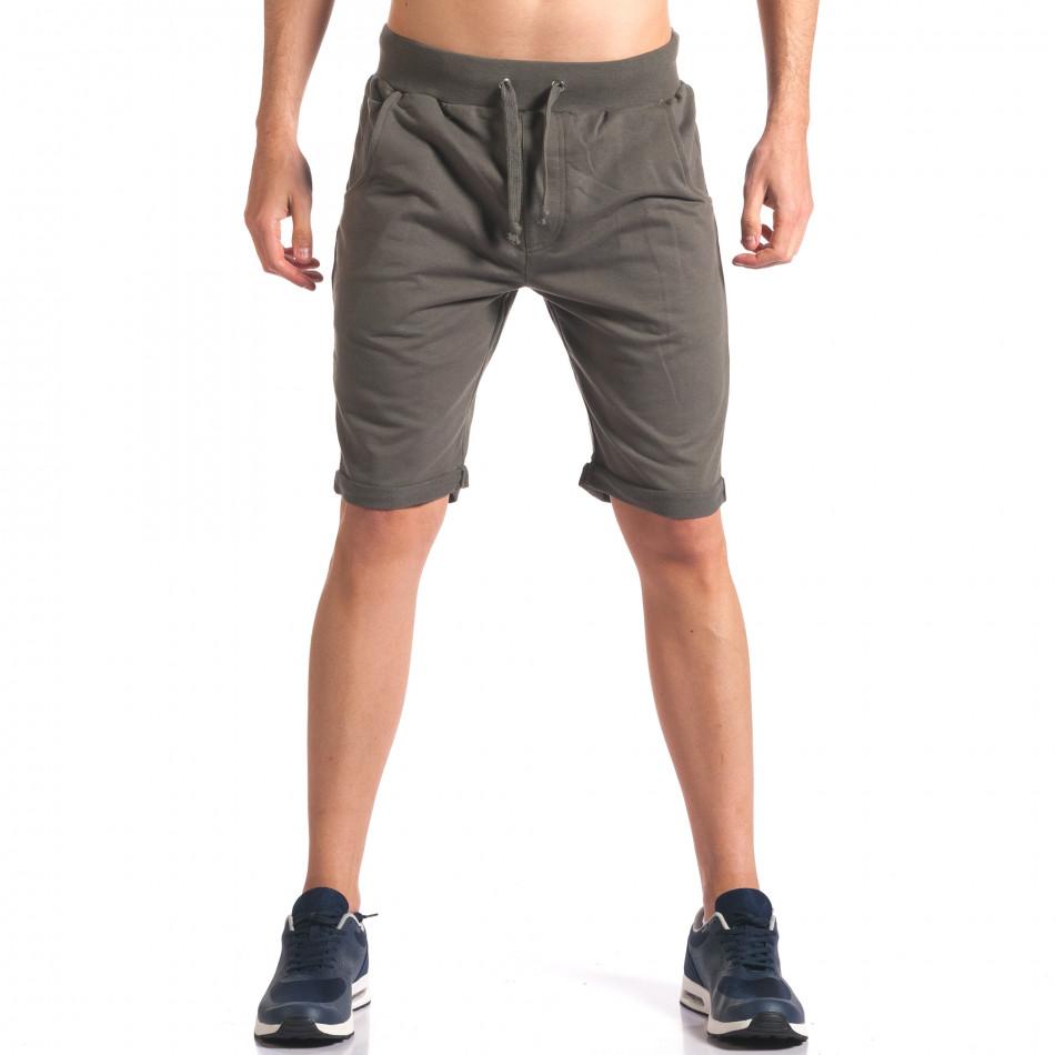 Pantaloni scurți bărbați New Men verzi it260416-27