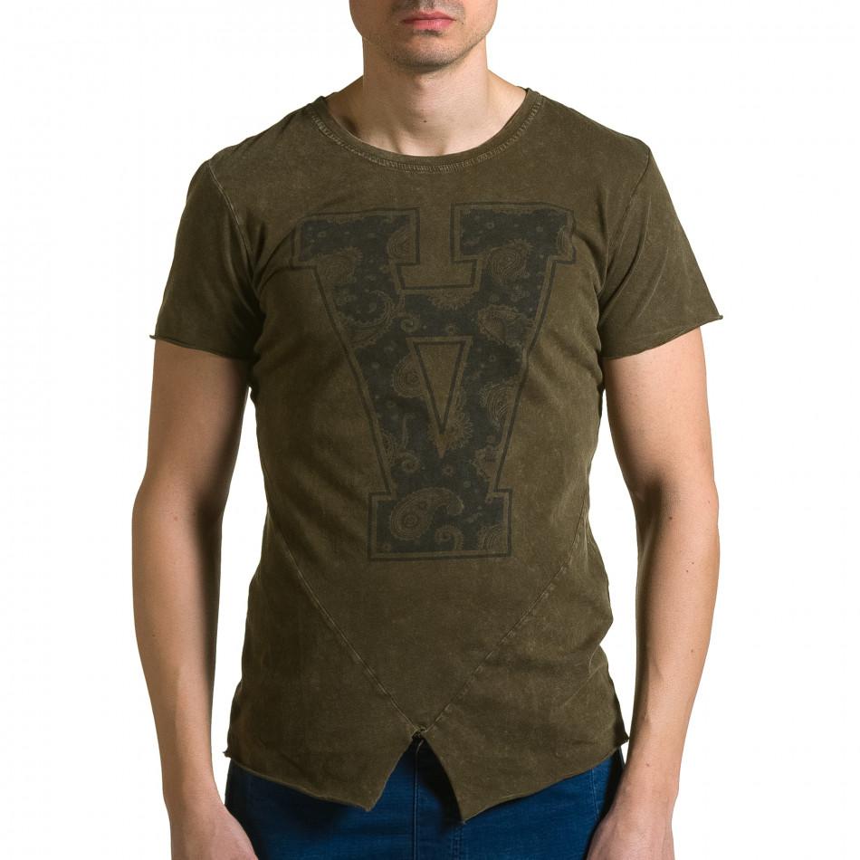 Tricou bărbați Adrexx verde ca190116-46