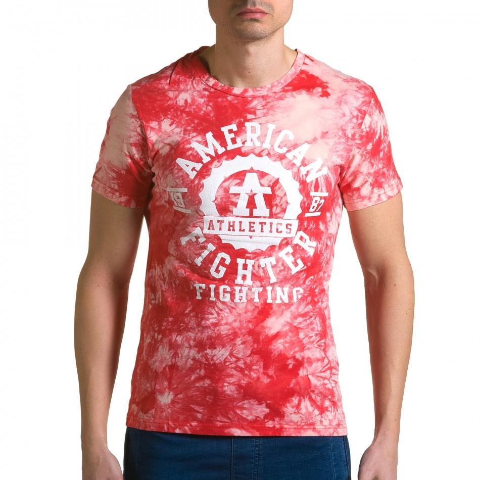 Tricou bărbați P2P roșu ca190116-44