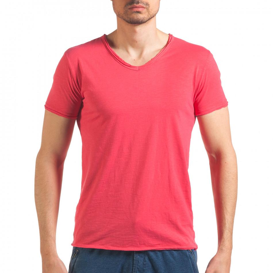Tricou bărbați FM  roz it260416-48