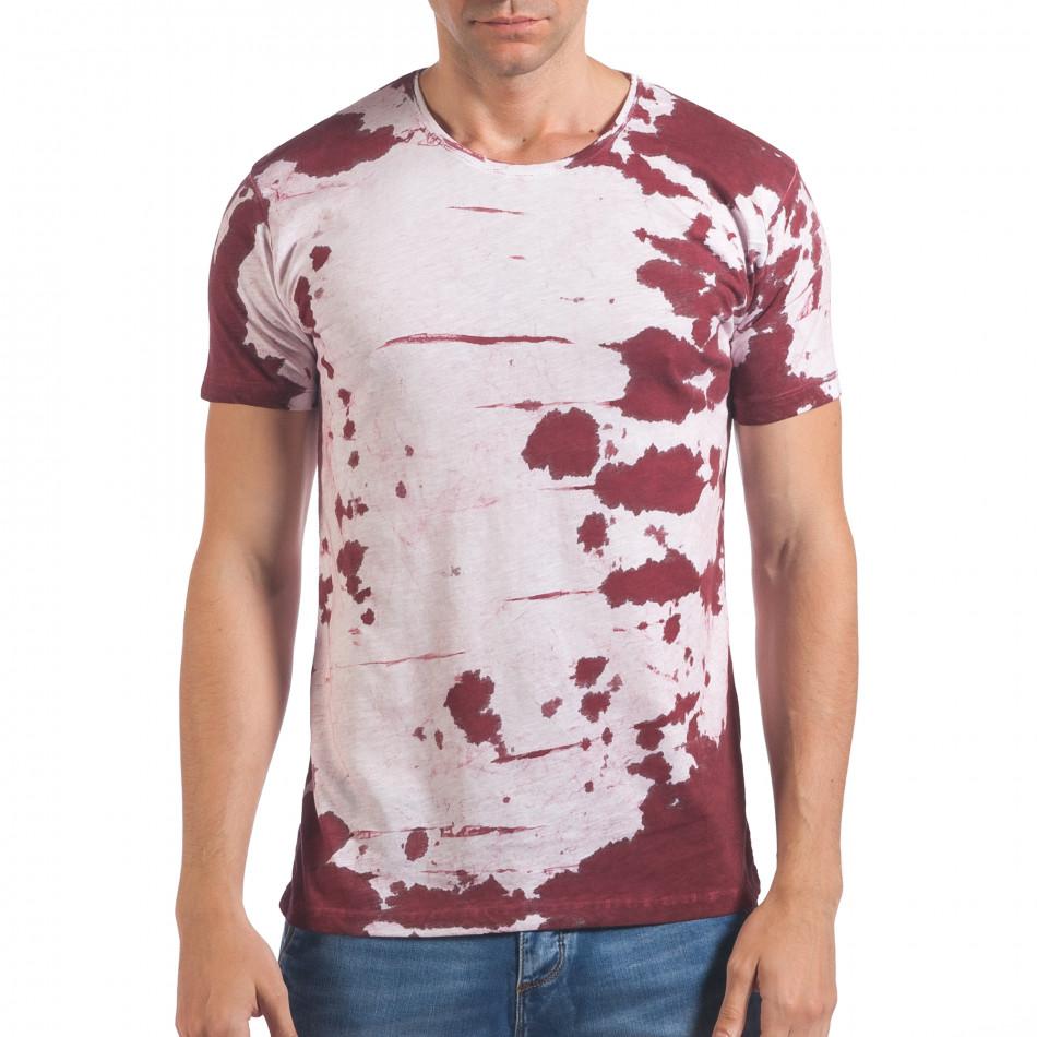 Tricou bărbați Lagos alb il060616-55