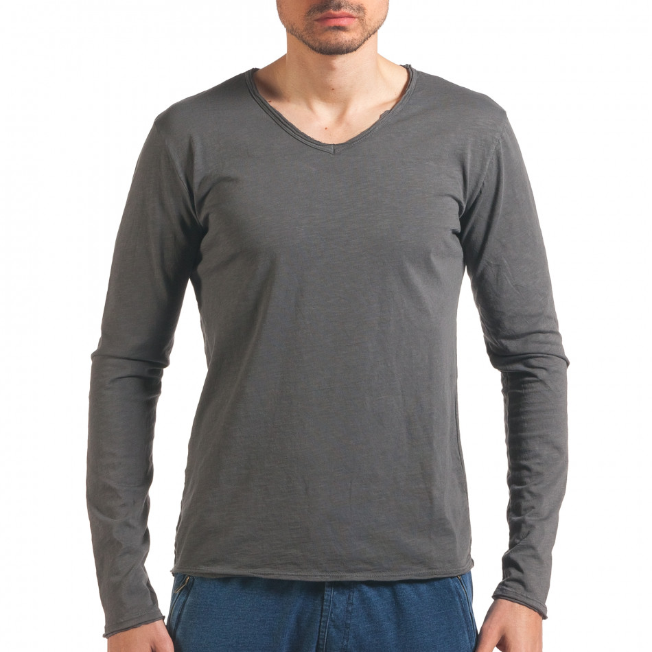 Bluză bărbați Man gri it260416-50